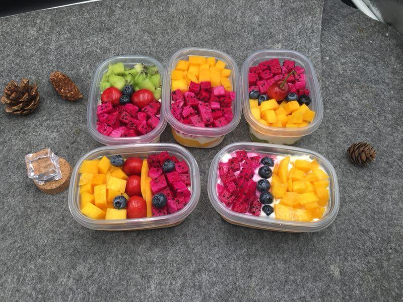 水果盒子蛋糕