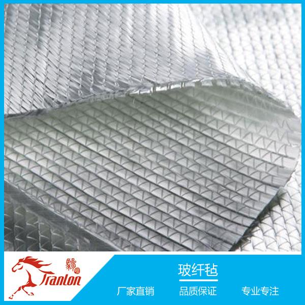 玻璃纤维聚酯复合缝编毡