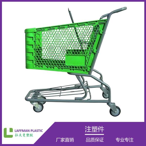 超市塑料拖车