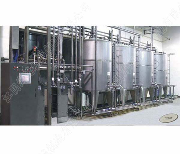 饮料生产线清洗系统