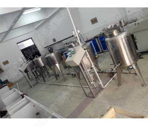 实验室小型果汁生产线
