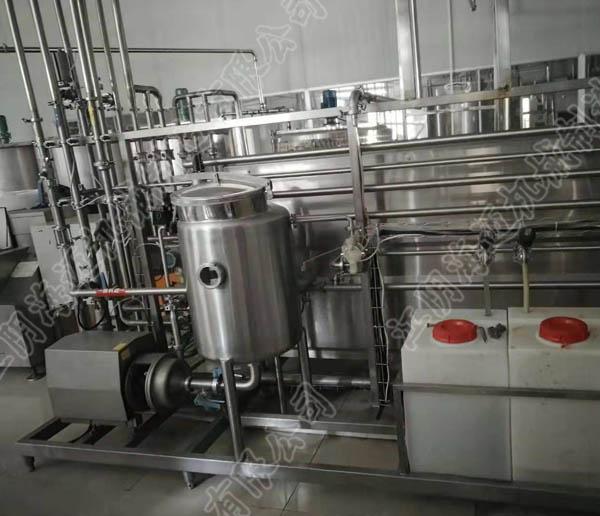 调配型乳饮料生产线