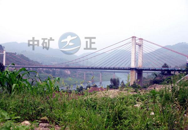 悬索桥主缆防腐除湿工程