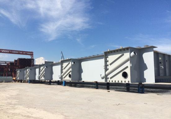 桥梁钢结构防腐除湿工程