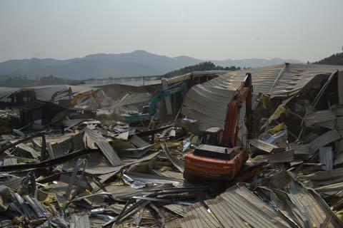 回收四川厂房拆除废旧品