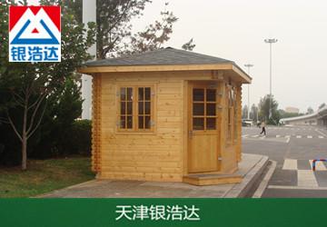 防腐木景区岗亭