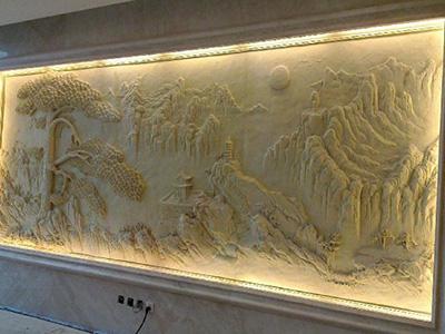 澳门砂岩浮雕