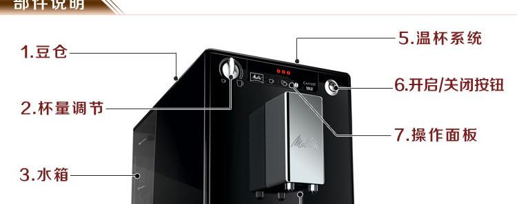 美乐家进口现磨咖啡机