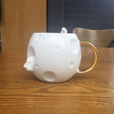 星巴克陶瓷桌面杯