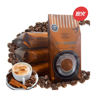 依卡拉玛炭火焙炒巴西风味哥伦比亚意大利摩卡蓝山曼特宁咖啡豆