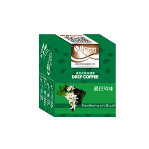 依卡拉玛挂耳曼巴风味咖啡粉