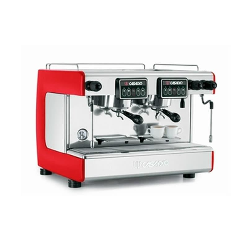 原装�q�口CASADIO卡萨�q�欧Dieci A2双头意式商用甉|��半自动咖啡机
