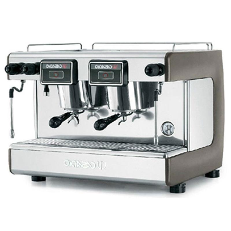 CASADIO卡萨迪欧 原装进口 双头半自动咖啡机DIECI/S2 手控 商用 咖啡色