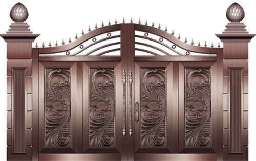 武汉庭院铜门