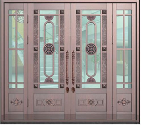 玻璃銅門價格