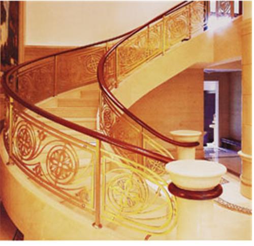 銅藝樓梯扶手