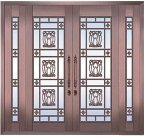 黄冈玻璃铜门