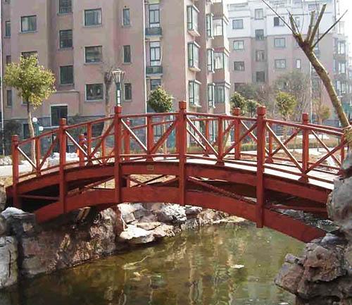 都匀防腐木桥梁安装