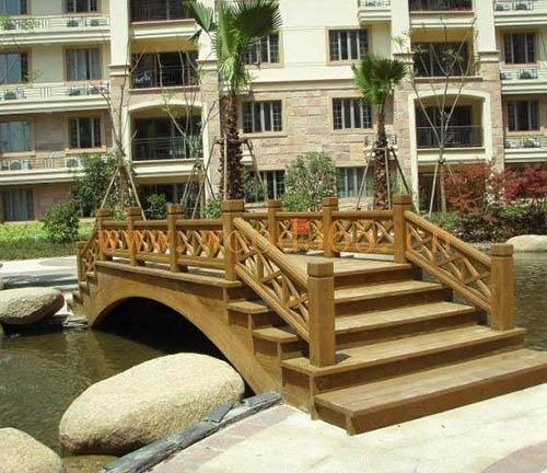 都匀木桥梁