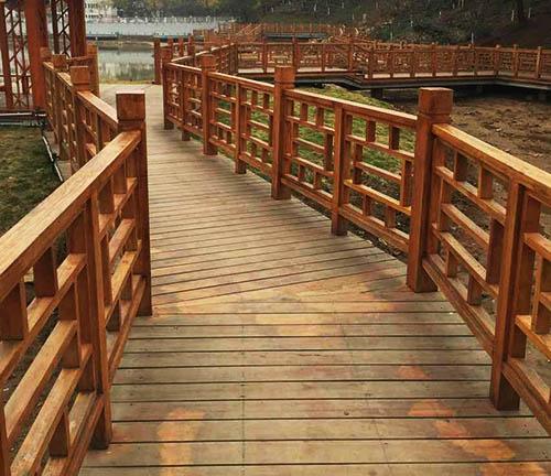 贵州木制护栏