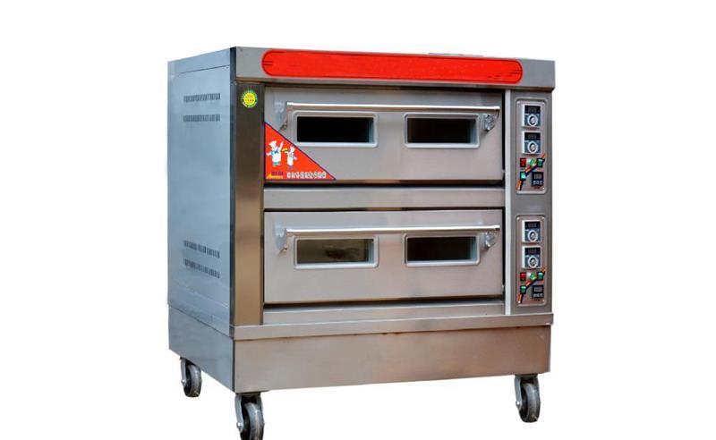 两层四盘烤箱