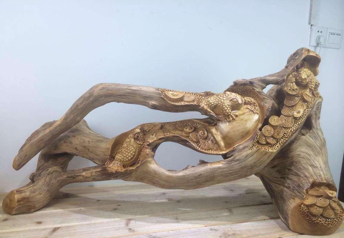 木雕手工制作