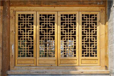 河南中式仿古门窗