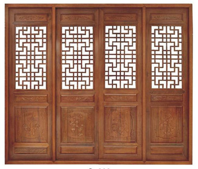 中式门窗制作