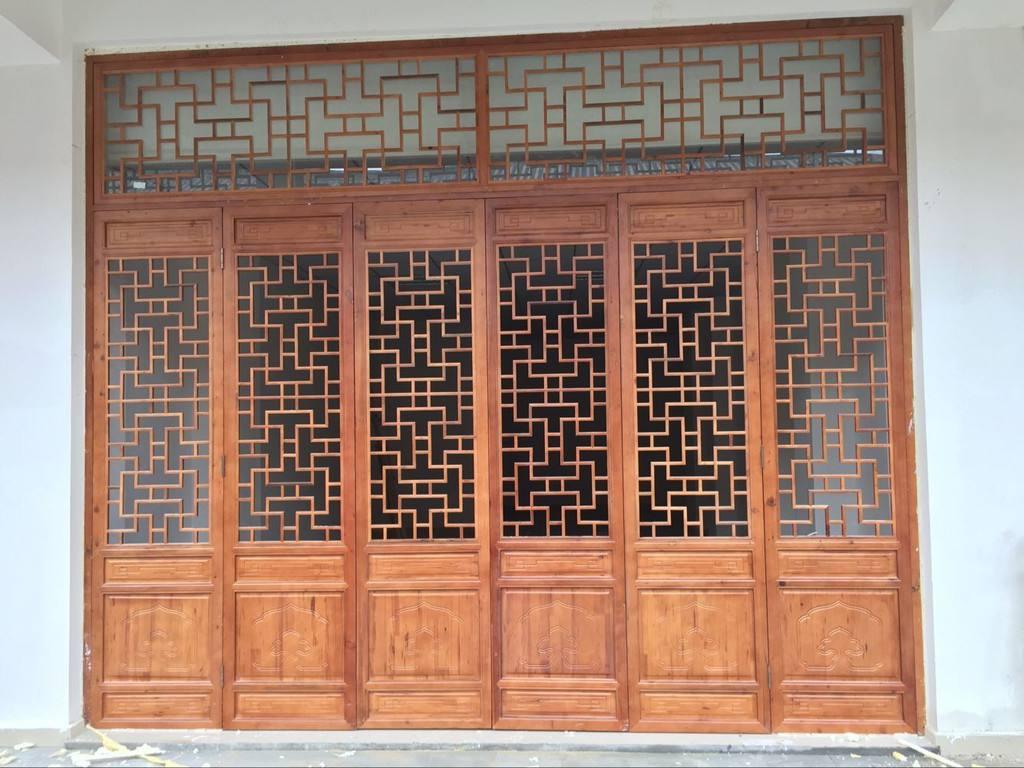 中式门窗定做