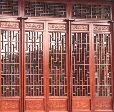 中式仿古门窗加工厂家