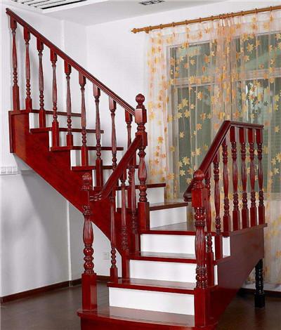 实木楼梯设计安装