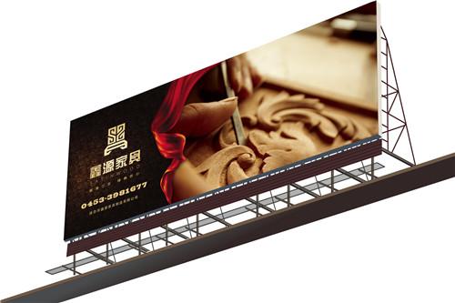 郑州户外广告牌制作