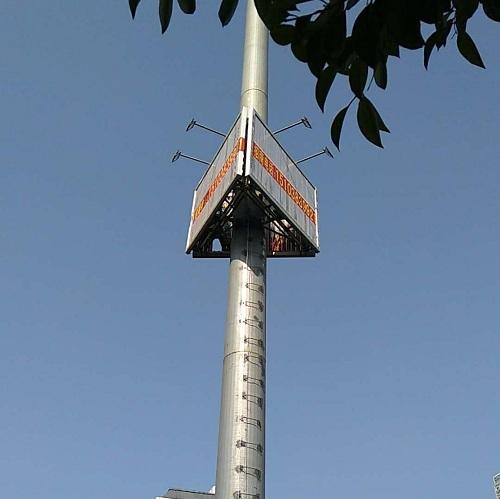 河南单立柱广告塔