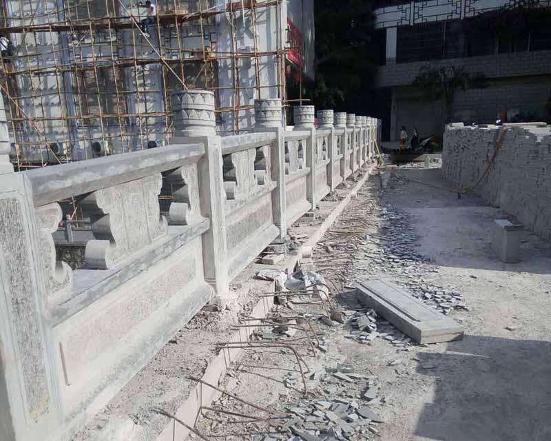 南京石材栏杆