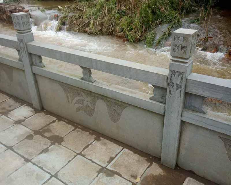 西安册亨石材栏杆
