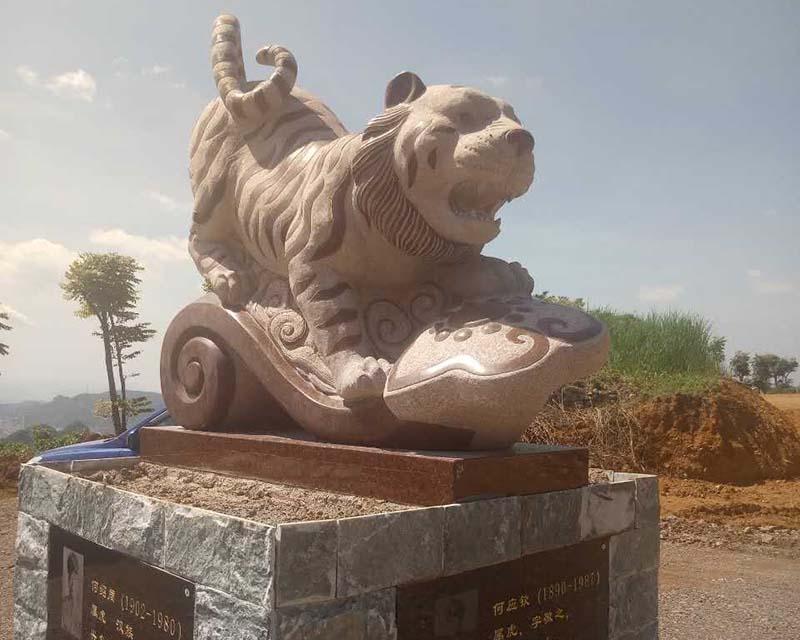天津石材圆雕