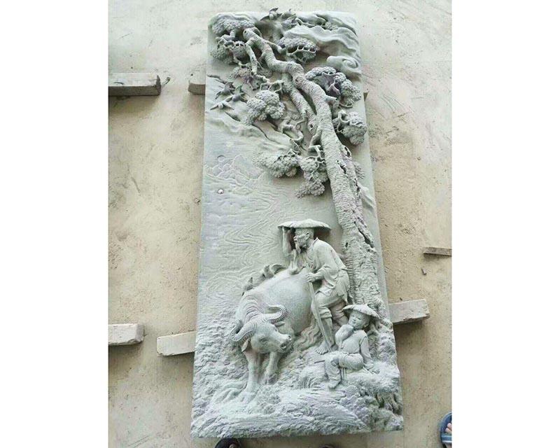 普安石材浮雕