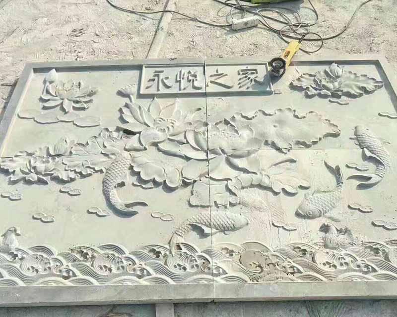 贵州望谟石材浮雕