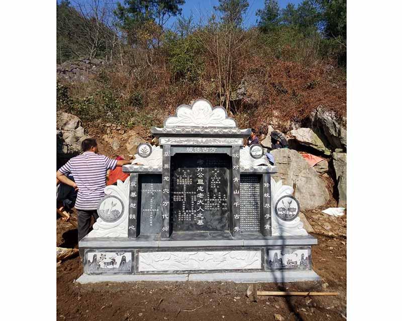 兴义青石墓碑