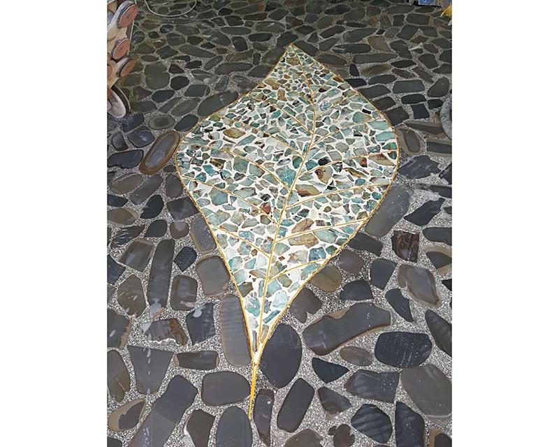 鹅卵石装饰