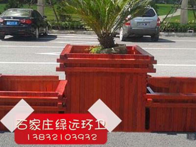石家庄防腐木花箱