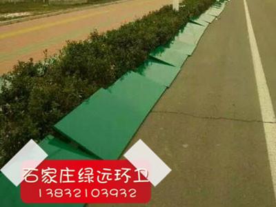 绿化带挡雪板