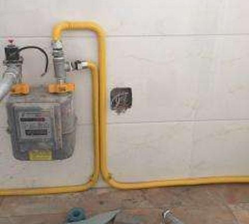 小區室內改燃氣管道