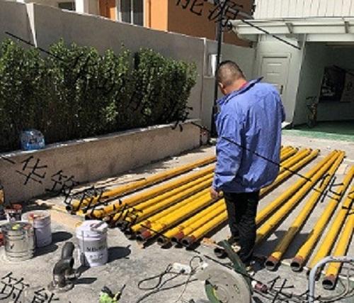 饭店燃气管道施工
