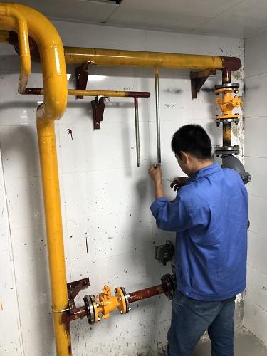 飯店燃氣改造