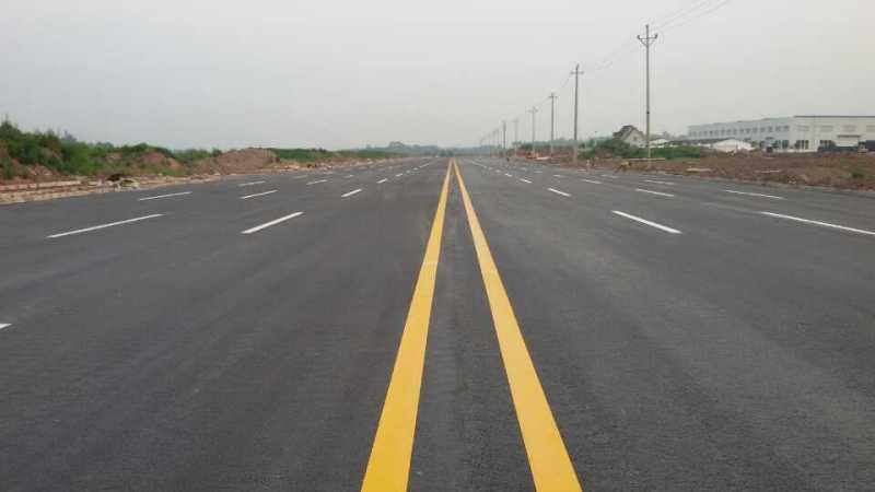 道路划线工程