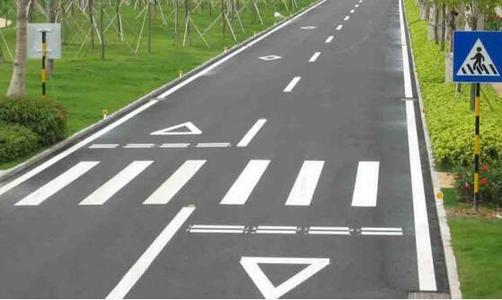 河南道路划线