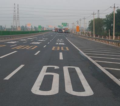 荆州道路划线