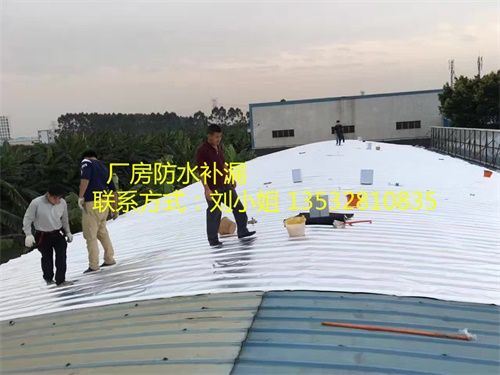 东莞铁皮棚防水补漏工程