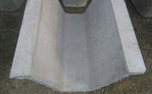 土质U型水沟渠